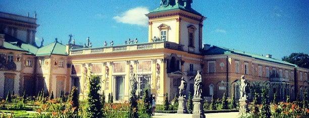 Pałac w Wilanowie is one of Warschau.