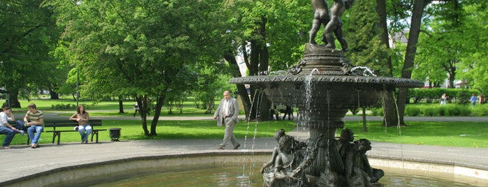 Vērmanes Garden is one of Must-visit Great Outdoors in Rīga.