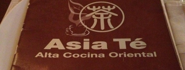 Asia Té is one of Comer en Madrid.