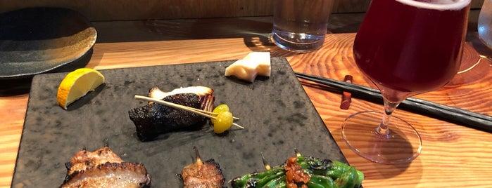 Brush Sushi Izakaya is one of The 33 Essential Atlanta Restaurants, Summer '17.