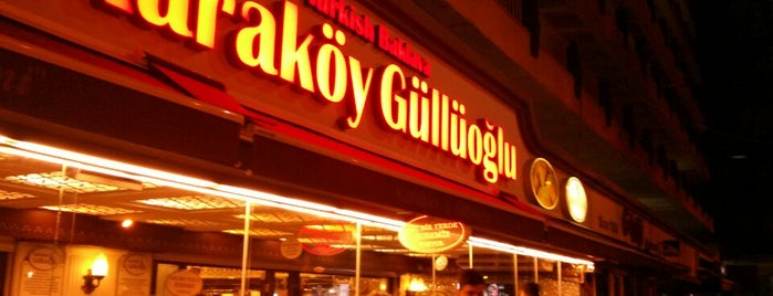 Karaköy Güllüoğlu is one of The 15 Best Places for a Baklava in Istanbul.