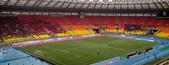 Stade Loujniki is one of Bucket List ☺.