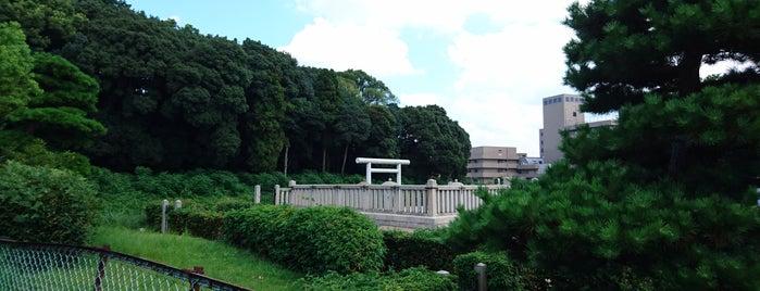 繼體天皇 三嶋藍野陵(太田茶臼山古墳) is one of 天皇陵.