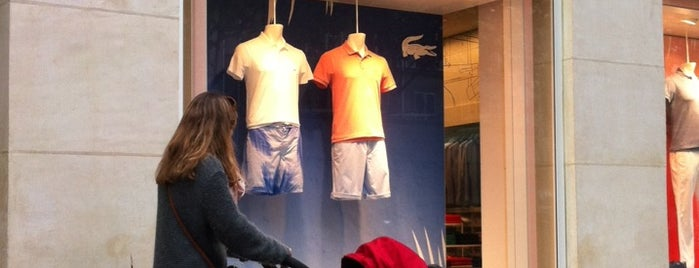 Lacoste Live is one of Boutique.