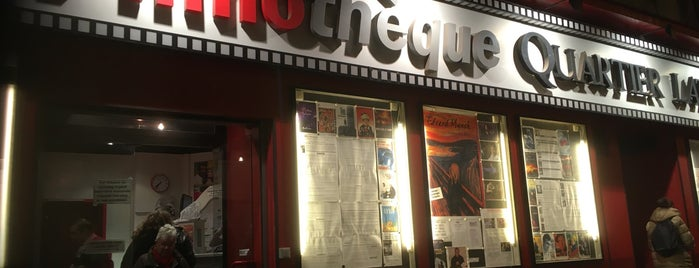La Filmothèque du Quartier Latin is one of París.