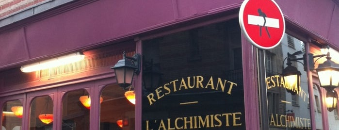 L'Alchimiste is one of Paris.