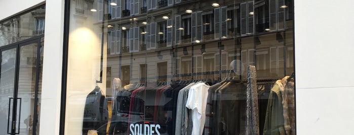 Zadig & Voltaire is one of Paris.