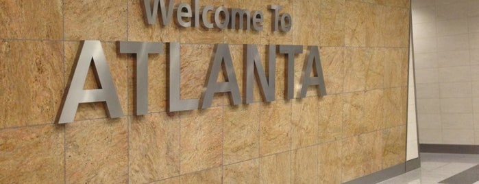 Hartsfield-Jackson Atlanta International Airport (ATL) is one of Fun.