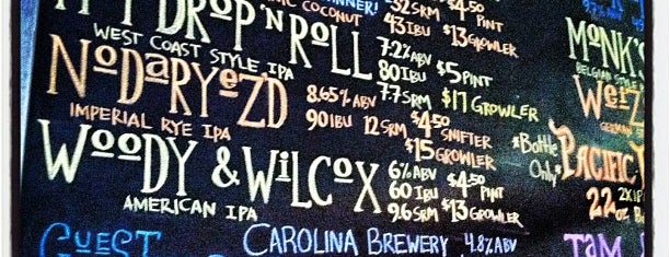NoDa Brewing Company is one of The 15 Best Places for Local Beers in Charlotte.