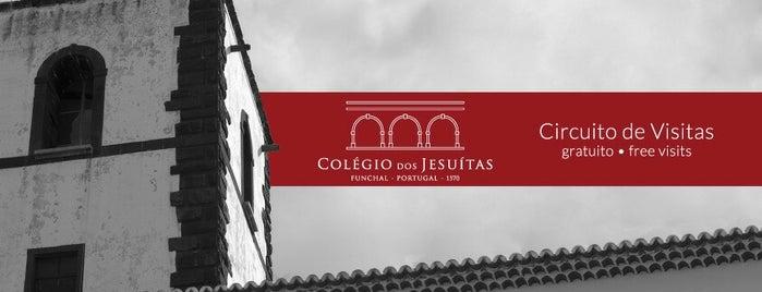 Colégio dos Jesuítas do Funchal is one of Madeira.
