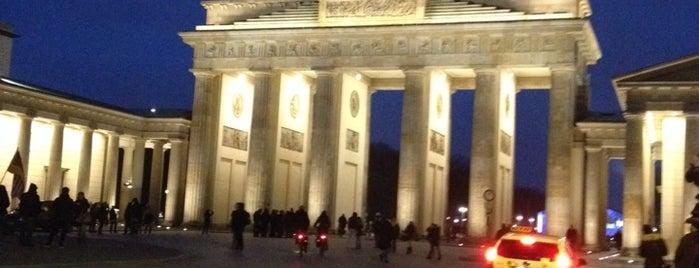 Brandenburg Gate is one of Berlin.