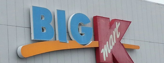Kmart is one of Been there / &0r Go there.
