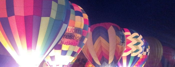 Balloon Glow at Forest Park is one of Fave STL Metro Sites.