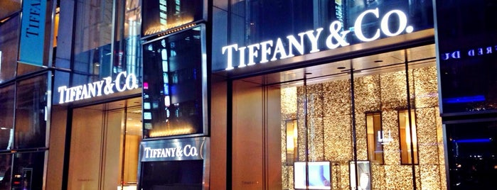 Tiffany & Co. is one of お気に入り.