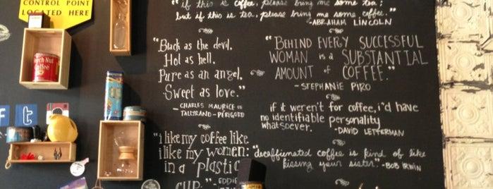The Coffee Bar is one of dc drinks + food + coffee.