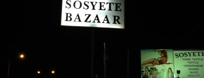 Sosyete Bazaar is one of Gezi.