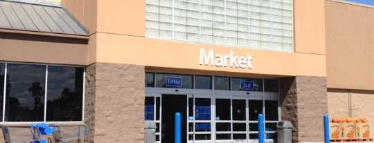 Walmart Supercenter is one of Croutons.