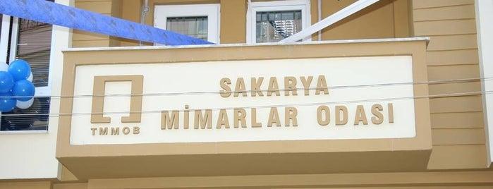 Mimarlar Odası Sakarya Temsilciliği is one of Mimarlık Kurumları.