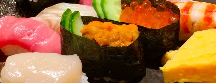Ginza Kyubey is one of The 15 Best Places for Sushi in Tokyo.