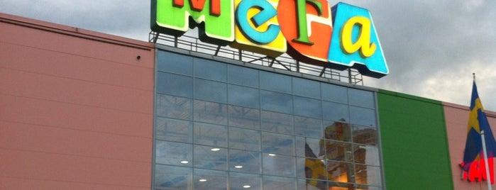 МЕГА Парнас is one of TOP-100: Торговые центры Санкт-Петербурга.