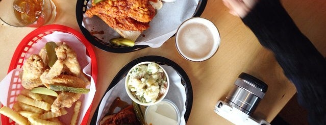 Belle's Hot Chicken is one of Melbourne.