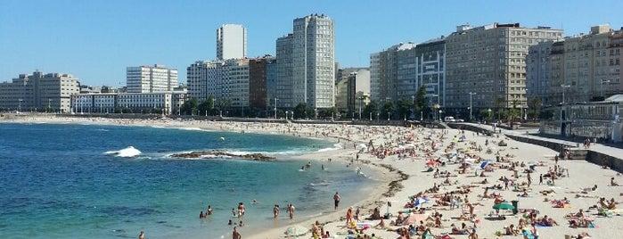 Riazor Beach is one of Venues....