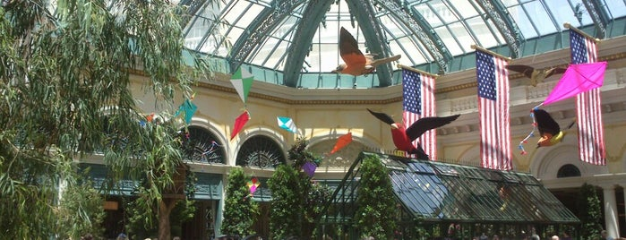 Bellagio Conservatory & Botanical Gardens is one of @MJVegas, Vegas Life Top 100.