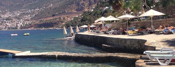 Kalkan Beach Park is one of Kaş kalkan fethiye.