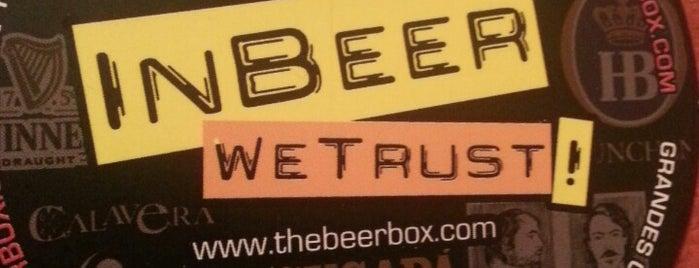 The Beer Box is one of Cerveza en el DF..
