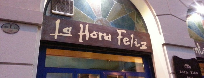 La Hora Feliz is one of Milano.
