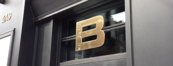 Brasserie Bernard is one of Best Terrasses in Montreal.