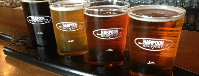 Harpoon Brewery is one of #TopVices: The Best Way to Indulge in Every State.