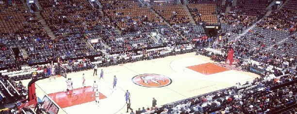 Air Canada Centre is one of NHL arenas.