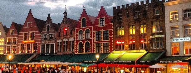 Market Square is one of Bruges.