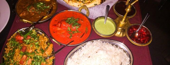 Taj Indian Restaurant is one of Nashville Favs.