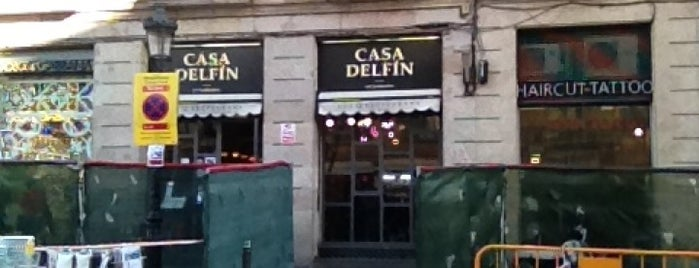 Casa Delfín is one of Patatas Bravas de Barcelona.