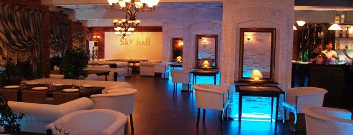 Sky Hall is one of Bishkek city.