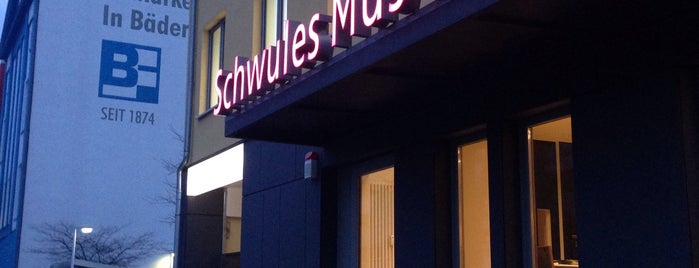Schwules Museum is one of Berlin.