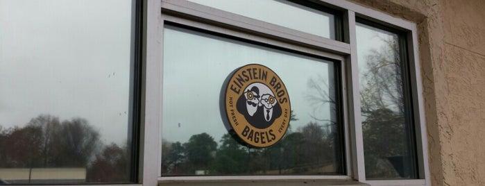 Einstein Bros Bagels is one of Guide to Atlanta's best spots.