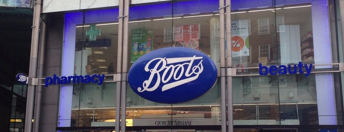 Boots is one of Shops.