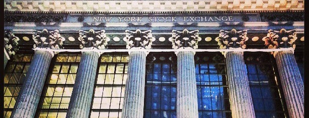 New York Stock Exchange is one of New York 2012.