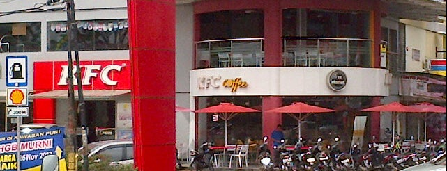 KFC / KFC Coffee is one of All-time favorites in Indonesia.