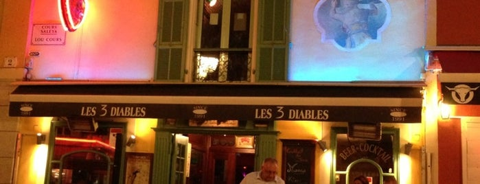 Les 3 Diables is one of Nice Night Life.