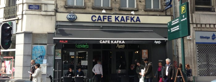 Café Kafka is one of Брюссель.