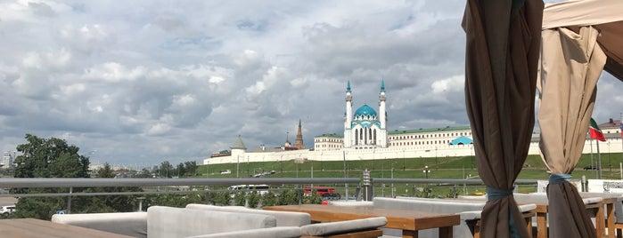 ZIMA LETO teracce&lounge bar is one of Kazan.