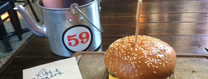 Ribs & Burgers is one of The 15 Best Places for Burgers in Sydney.
