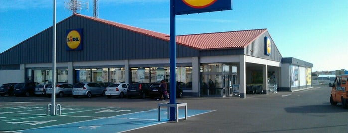 Lidl is one of Menorca.