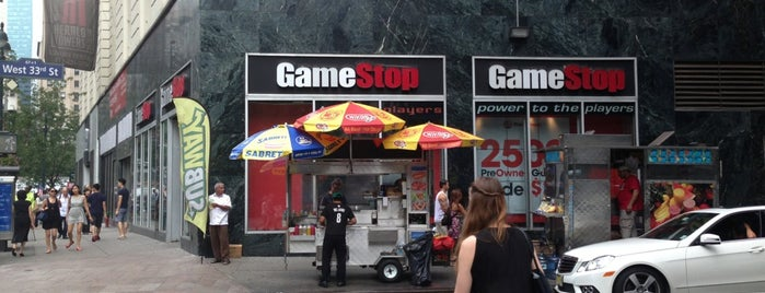 GameStop is one of New York Favorite.