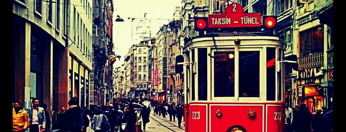 İstiklal Caddesi is one of IST.