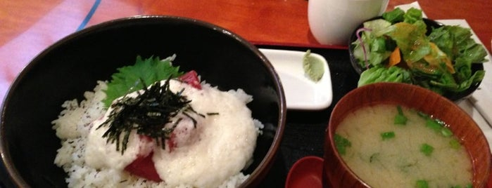 Donburi-ya is one of Japanese spots to try.